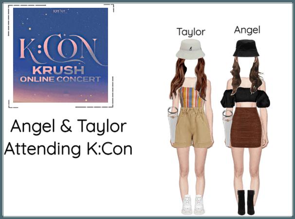 천사 (Angel) And 테일러 (Taylor) Attending K:Con