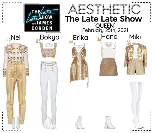 AESTHETIC (미적) [THE LATE LATE SHOW]