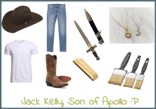Jack Kelly, Demigod, COA
