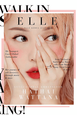 BITTER-SWEET [비터스윗] Honey for Elle July 2020
