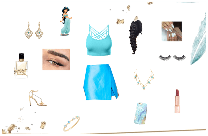 Jasmine Modern-Day Inspired Outfit