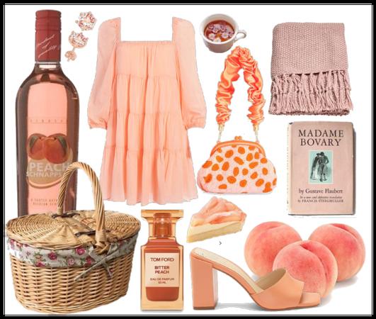 Peach picnic