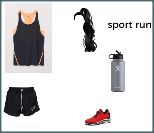 sport run