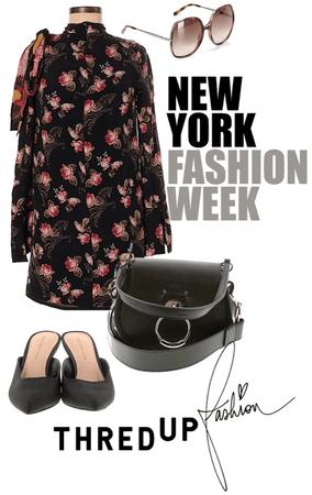 NYFW Inspiration Dark Autumn Florals