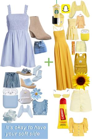 blue + yellow