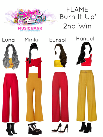 190620 [FLAME] 'Burn It Up' 2nd Win - Music Bank