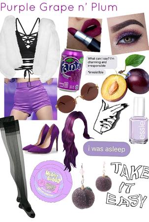 purple grape n' plum