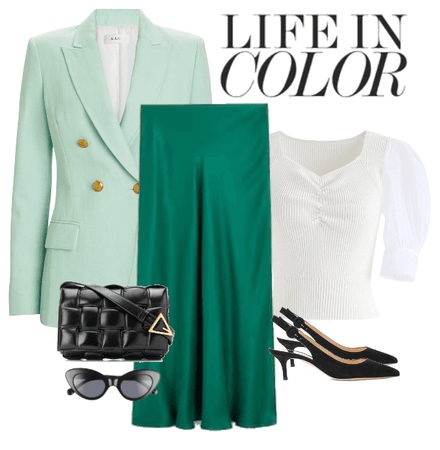 mint outfit