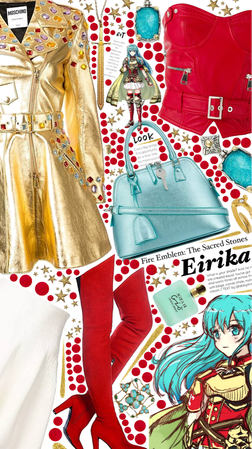 Fire emblem: the sacred stones: Eirika