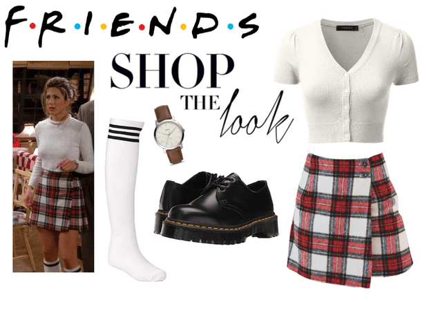 f•r•i•e•n•d•s rachel green inspired outfit