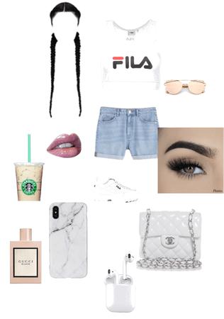white glam