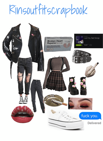 The grunge aesthetic!