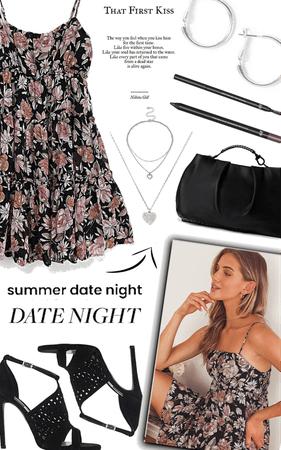 date night in a sundress