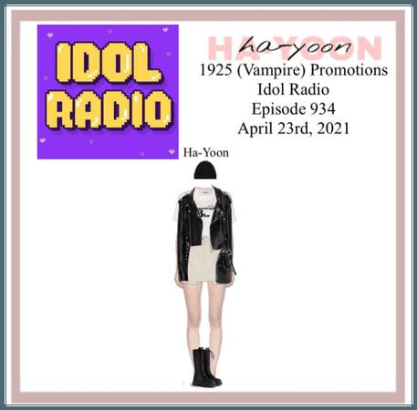 /HA-YOON/ Idol Radio Episode 934