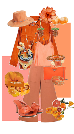 rosey orange