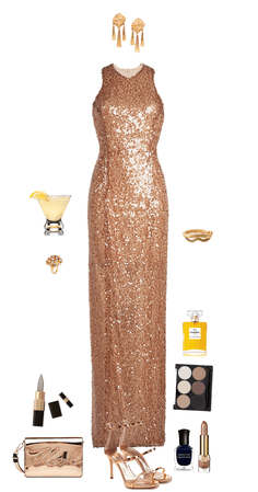 gold gown (Bane)