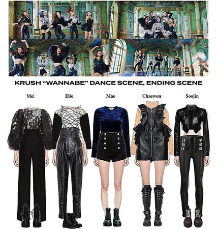 """KRUSH """"WANNABE"""" M/V Dance Scene, Group Scene, Ending Scene"""