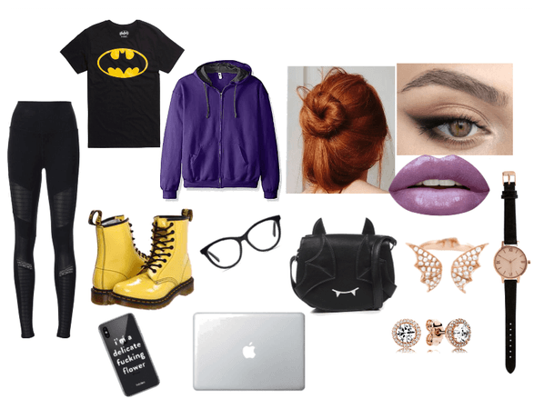 Batgirl/Barbara Gordon look