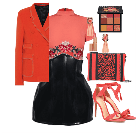 Paint The Town Coral - VDAY Outfit