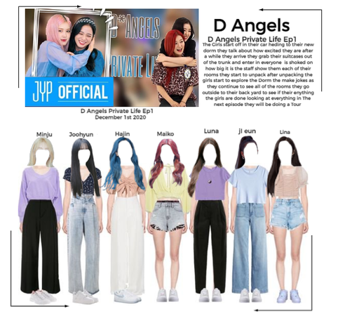 D Angels Private Life Ep1