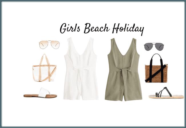 Girls Beach Holiday