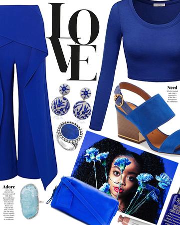 amour bleu | @we_girl contest