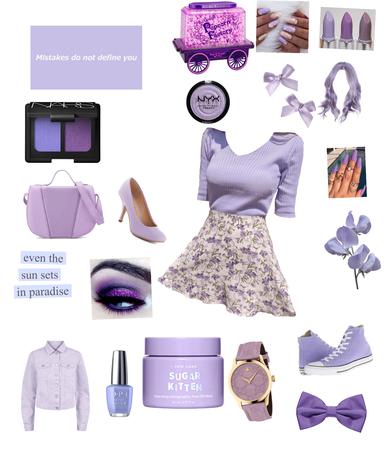 Pastel Purple 🔮☂️🦄😈♊️💜