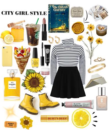 Yellow n' Stripes
