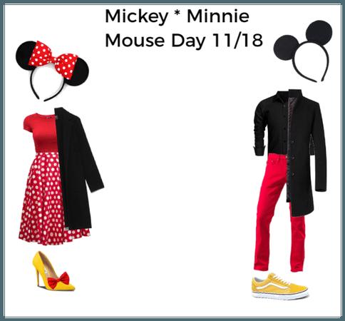 #mikeyminniemouseday theme by Giada Orlando 2019