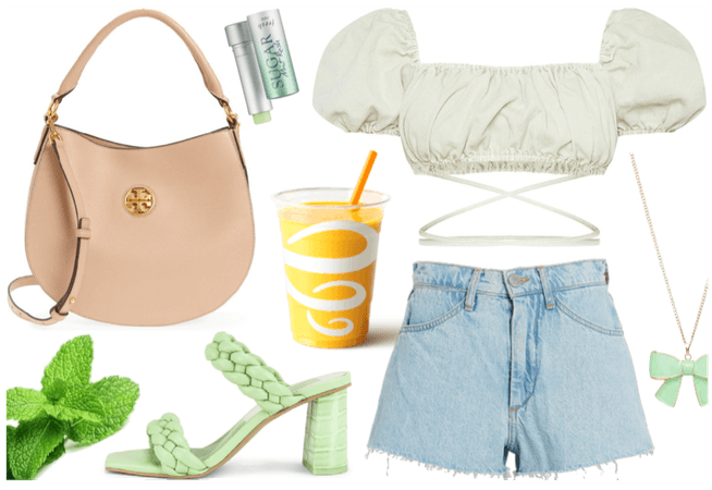 Summer Heat Outfit - minty fresh