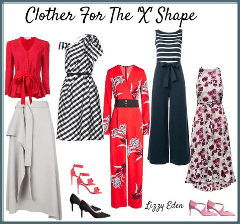 X shape clothes