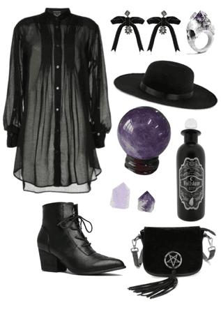 Velvet witch
