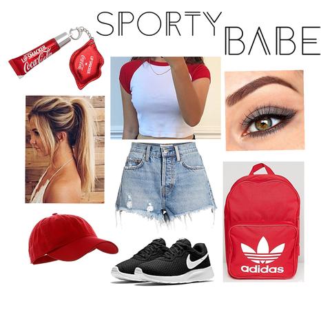 Sporty Babe