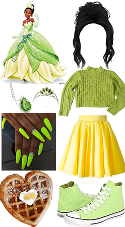 Modernized Tiana (Princess and the Frog)
