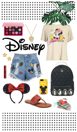 Tropical summer DISNEY vacation outfit