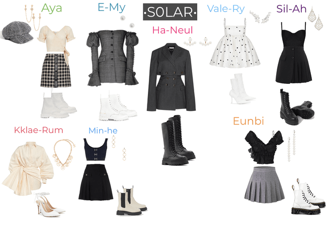 S0LAR : Time OUTFITS for STAGE