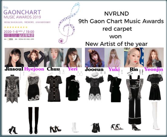 NVRLND 9th Gaon Chart Music Awards red carpet