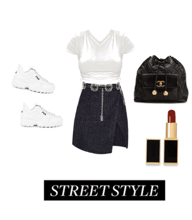 Casual&Glam Style.