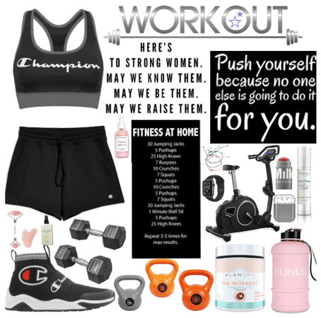 #home workout!🏋🏼♀️