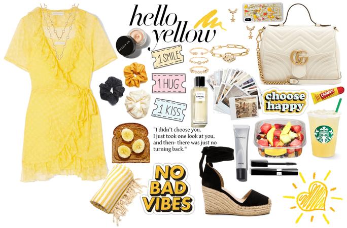 Summer style: hello yellow