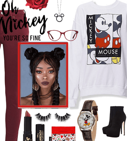 Mickey-Inspired Attire