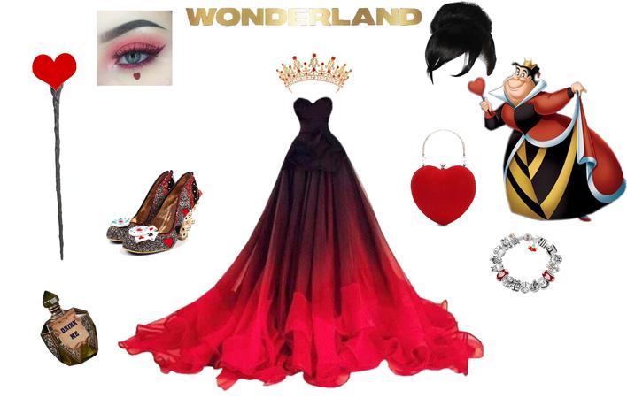 glam queen of hearts