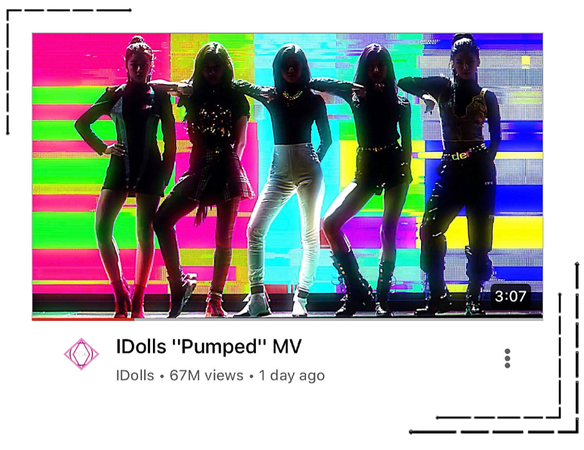 "IDolls' ""Pumped"" Music Video"