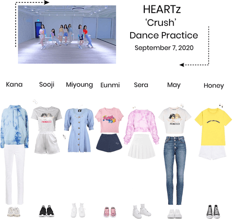 HEARTz// 'Crush' Dance Practice