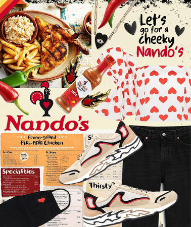let's go for a cheeky Nando's