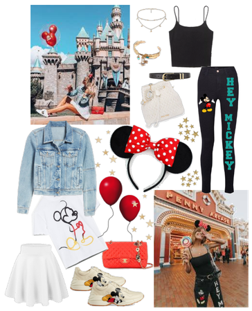 A look for a disney vacation