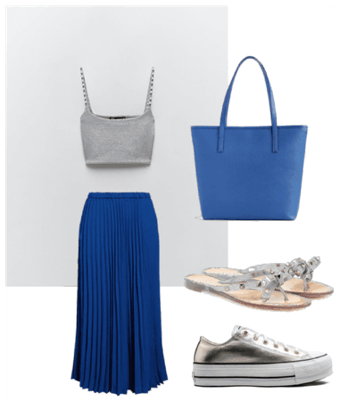 Relax and chic Grey and Blue