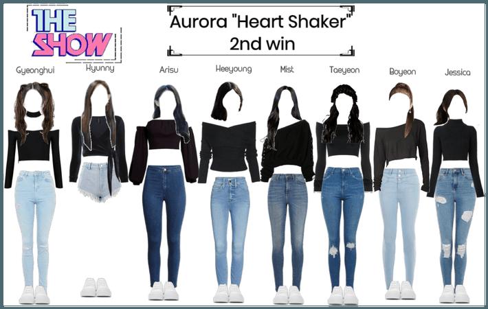 "Aurora ""Heart Shaker"" 2nd win"