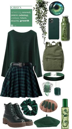 winter monochrome-green