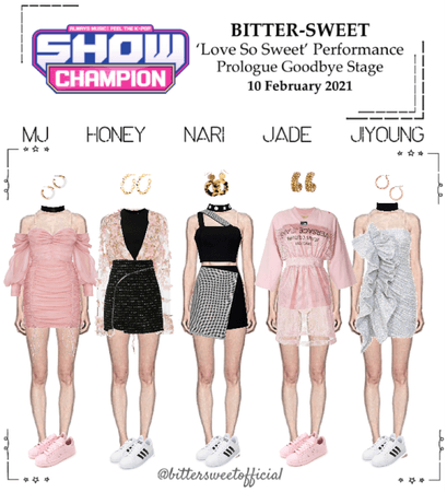 BITTER-SWEET [비터스윗] Show Champion 210210
